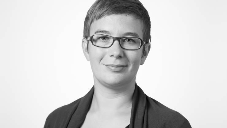 Doris Kleck, Inland-Redaktorin.