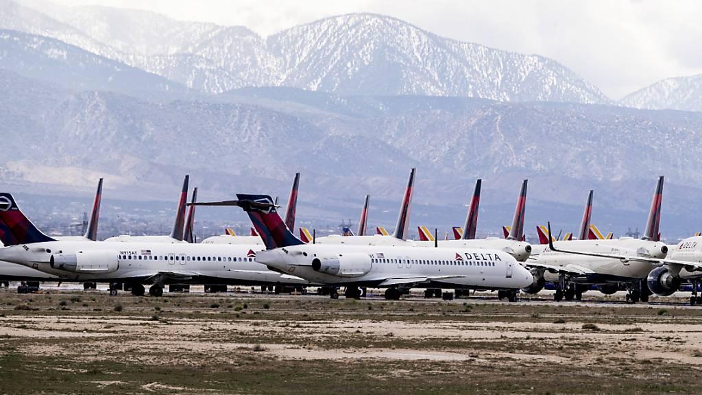 US-Fluggesellschaften verlieren zehn Milliarden Dollar pro Monat