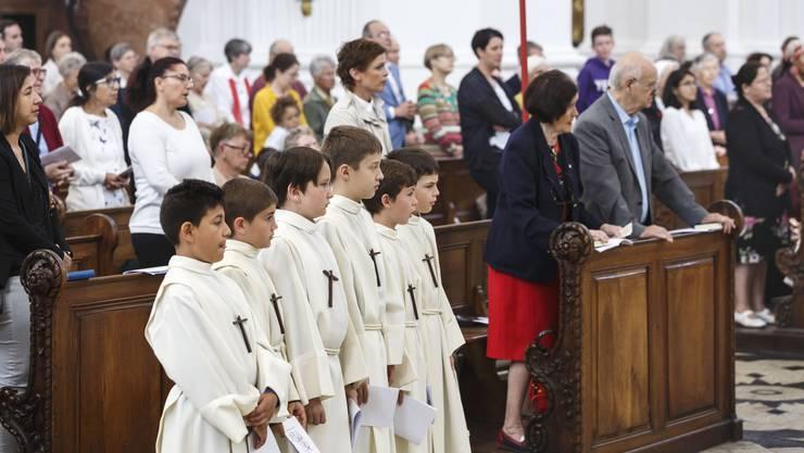 Der Fronleichnam-Festgottesdienst 2019 in der St. Ursenkathedrale
