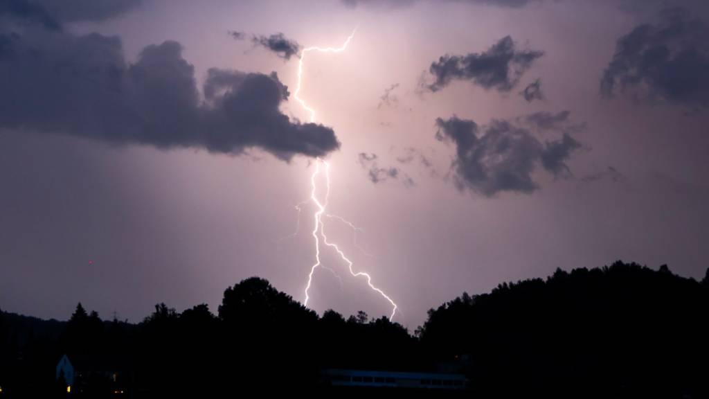 In dieser Thurgauer Gemeinde entluden sich im Sommer die meisten Blitze