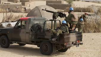 Friedenstruppen in Timbuktu: In der malischen Wüstenstadt wurde vor einem Jahr eine Schweizerin entführt - nun ist ein weiteres Video von der Frau aufgetaucht. (Symbolbild)