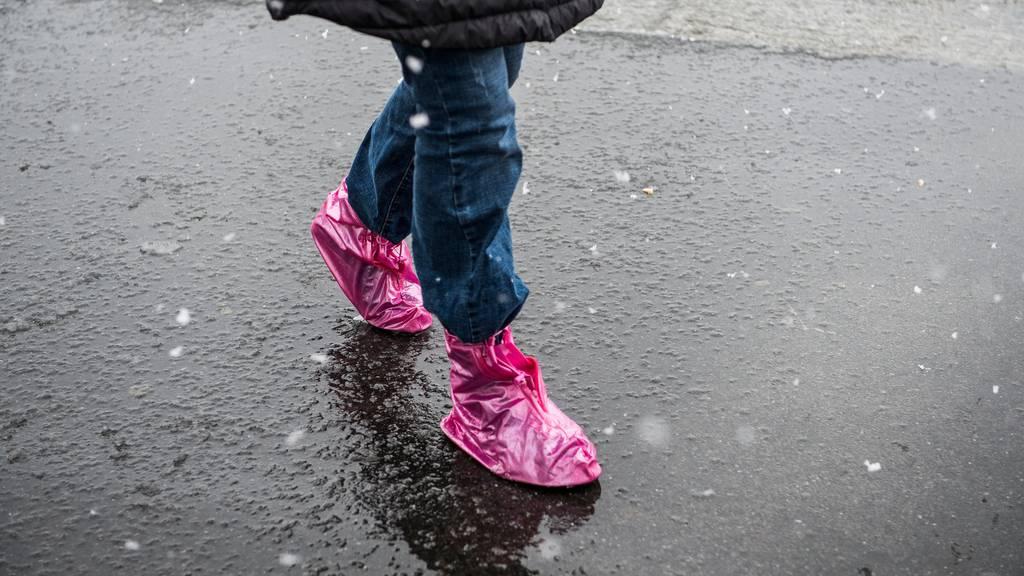 Zu früh gefreut: Es gab nur wenig Schnee im Flachland