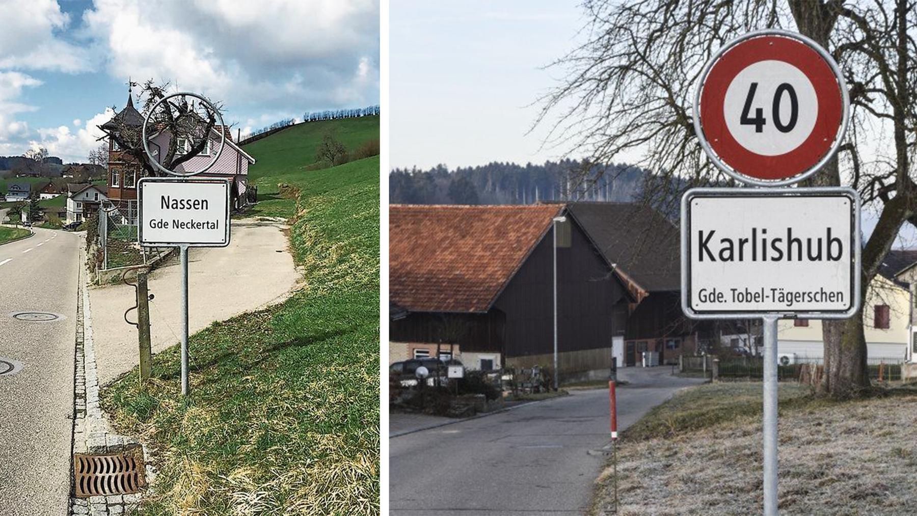 Tafelchaos in der Ostschweiz: An einem Ort fehlen sie und am anderen tauchen sie wieder auf.