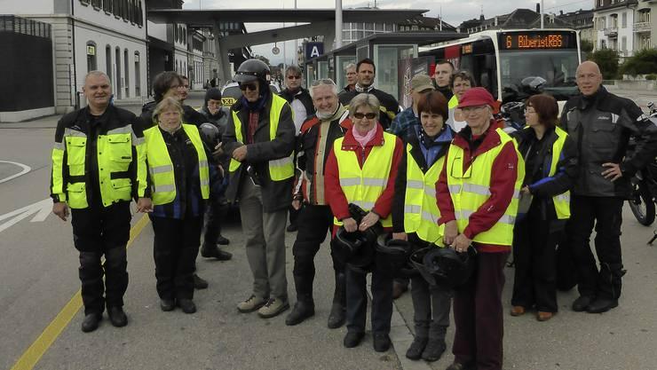 Aeschimann Optik organisiert für die Solothurnische Beratungsstelle für Sehbehinderte einen Töffausflug ins Entlebuch