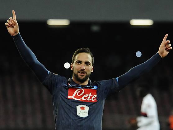 ... auf Seiten Napolis soll Higuain für die nötigen Treffer sorgen.