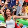 """Michelle Hunzikers Tochter Aurora Ramazzotti in Berlin beim """"Kindertag 2017"""". Nicht auf dem Bild: Ihr Freund Goffredo Cerza, mit dem sie erstmals den roten Teppich abschritt."""