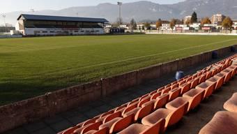Das Stadion «Brühl» in Solothurn. Hier wird schon bald der Uhrencup stattfinden.
