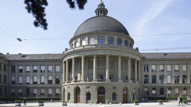 Den Grossteil der F+E bezahlt die öffentliche Hand/Bild: ETH Zürich