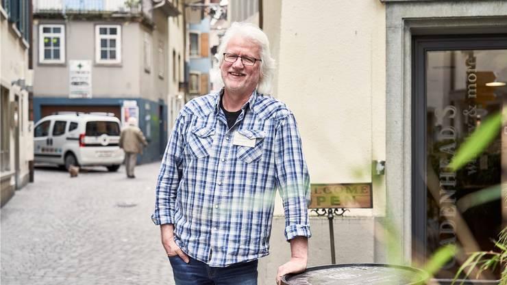Peter Siegenthaler konnte letzte Woche aufatmen, sein Weihnachtsgeschäft ist gerettet. (Bild: Colin Frei)