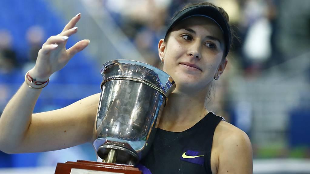 Bencics grösster Glücksmoment: In Moskau holte sie sich Turniersieg und Pokal und krönte ihre Saison mit der erstmaligen Qualifikation für die WTA Finals