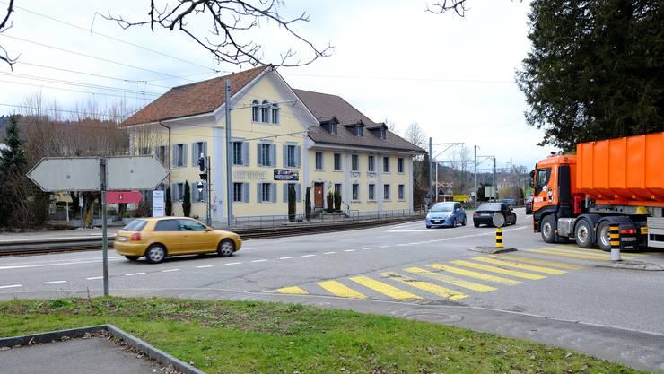 Noch in diesem Jahr solls losgehen: Drei Anläufe hat der Herbergekreisel in Teufenthal gebraucht. Jetzt legt der Kanton die Etappierung fest, im Herbst ist Baustart.