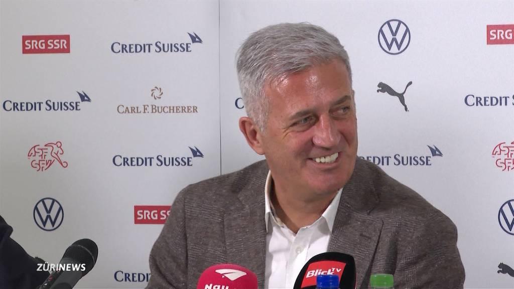 Vladimir Petkovic bleibt Trainer der Schweizer Nati