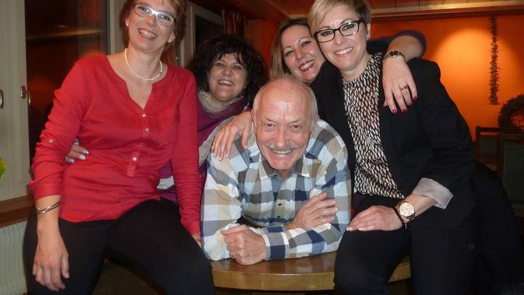 v.l. Yvonne Turdo, Marie-Theres Borner,  Guido Brügger, Ramona Zumstein, Bernadette Umbricht