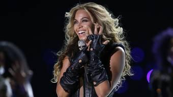 Beyoncé 2013 in der Halbzeitpause des Super Bowl. Heuer gibt es eine Zweitauflage (Archiv).