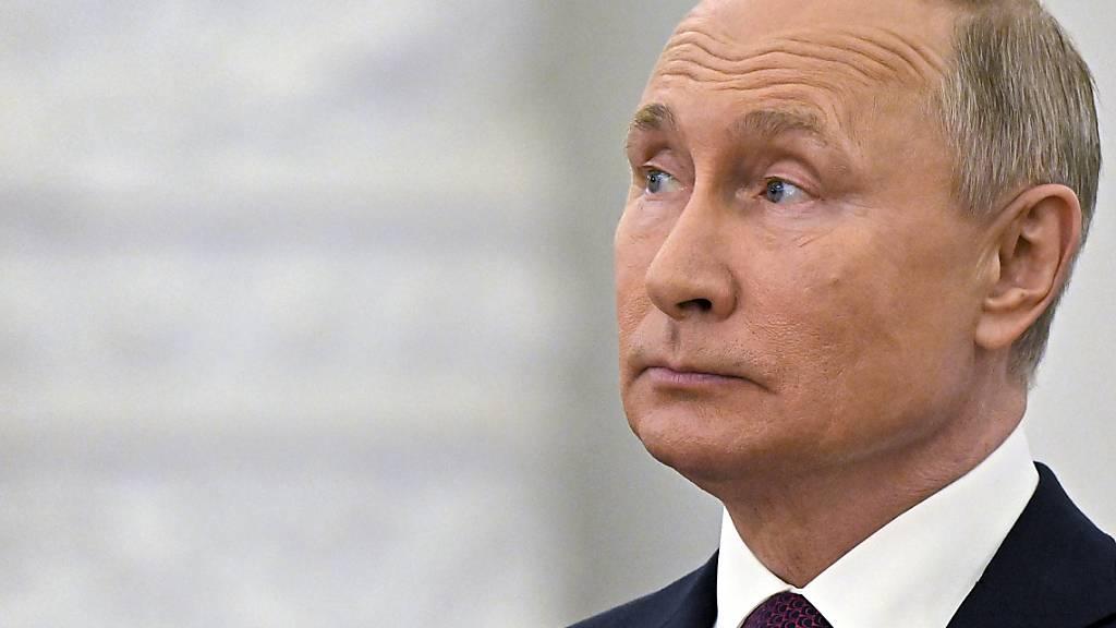 Wladimir Putin, Präsident von Russland. Foto: Yevgeny Odinokov/Sputnik Kremlin/AP/dpa