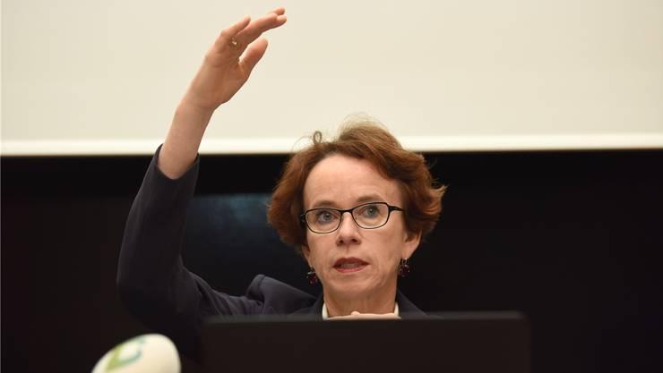 Finanzdirektorin Eva Herzog hofft auf einen Kompromiss beim NFA, der Basel-Stadt deutlich entlasten würde.