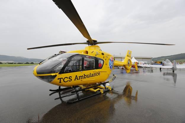 Ein TCS-Helikopter
