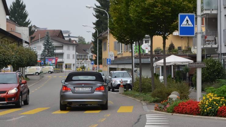 Auch an der Unterdorfstrasse sind Lärmdämpfungsmassnahmen geplant. sl