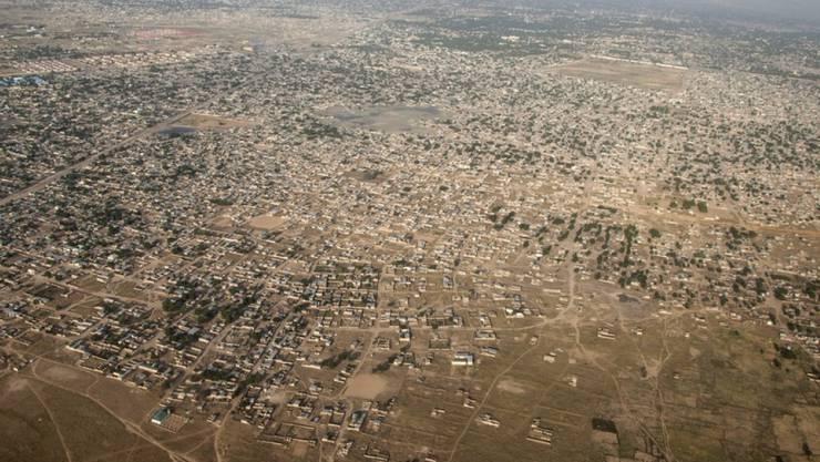 Die Stadt Maiduguri in Bundesstaat Borno in Nigeria gehört zu den von der Regierung vernachlässigten Gebieten des Landes - ein Nährboden für die Terrormiliz IS. (Archivbild)