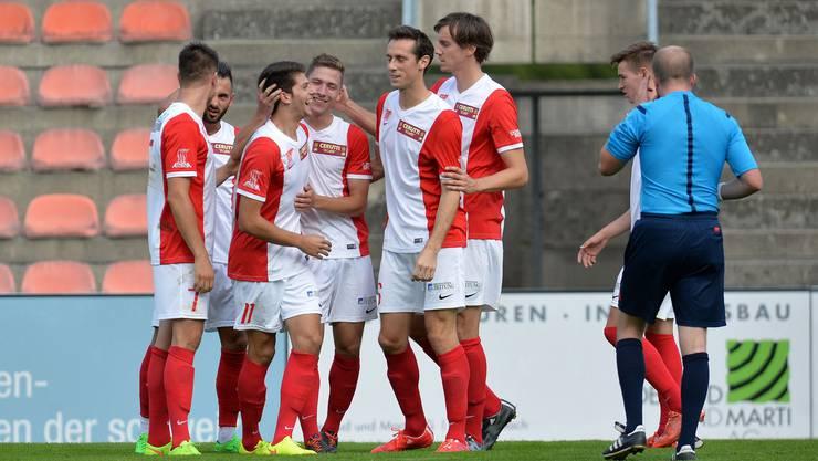 Für Solothurn war es das erste Spiel im eigenen Stadium in diesem Jahr.