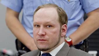 Die Frage der Schuldfähigkeit ist im Prozess gegen Anders Behring Breivik zentral (Archiv)