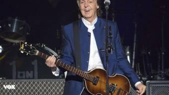 16 Jahre nach seinem letzten Auftritt am Glastonbury-Festival im Süden Englands ist der Ex-Beatle im nächsten Jahr erneut der Headliner auf der sogenannten Pyramide Stage. (Archivbild)