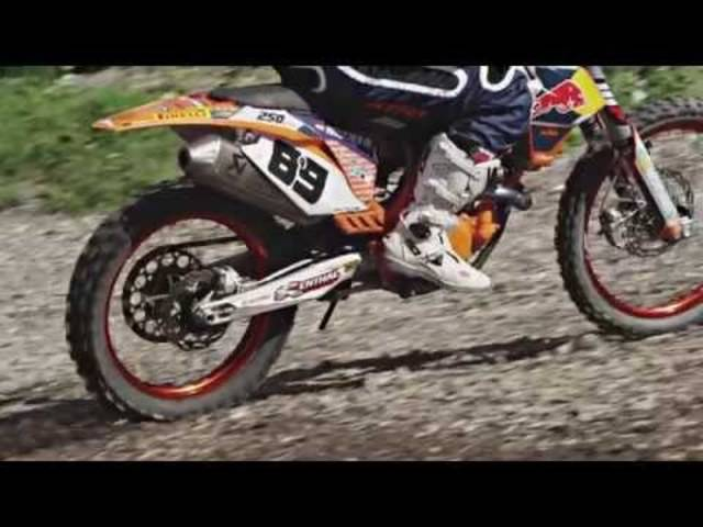 Marcel Hirscher - Motocross Session August 2014
