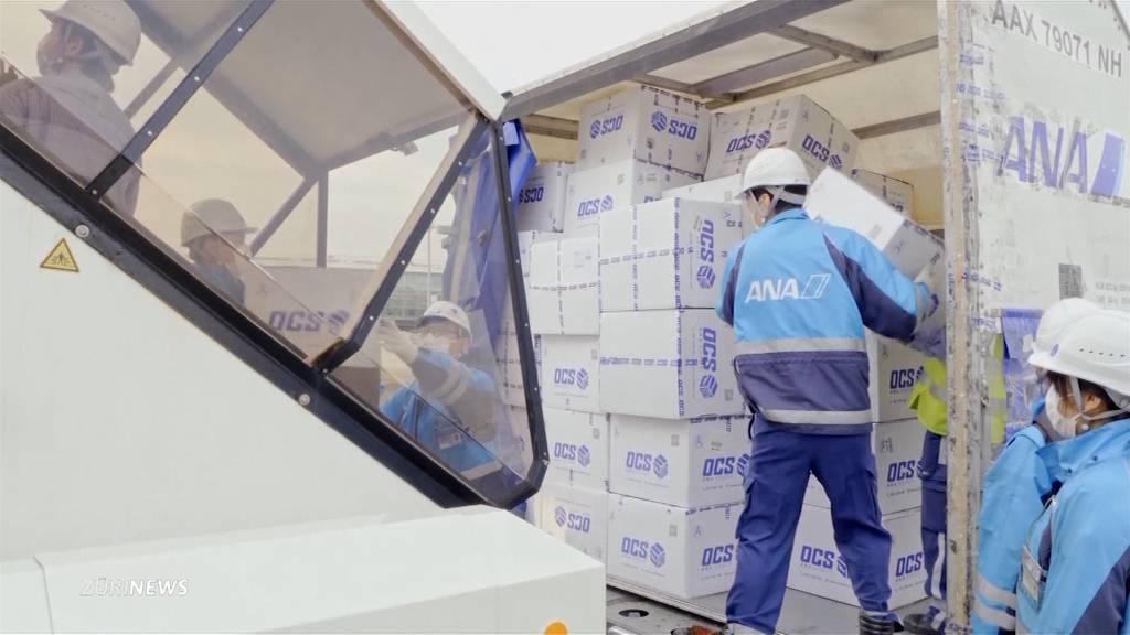 Schweizer Händler exportieren tonnenweise Schutzmasken ins Ausland