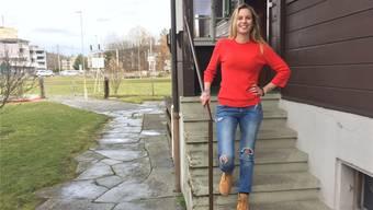 Alice Holden kümmert sich um die Jugendlichen, die am Mittwoch und Freitag im «Open House» vorbeikommen.Katja Schlegel