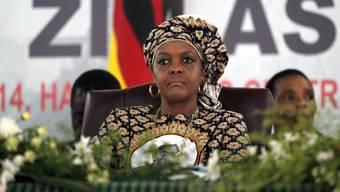 Grace Mugabe, Ehefrau von Präsident Robert Mugabe