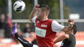 Raphaël Walther, der Torschütze zum 1:0 des FC Solothurn.