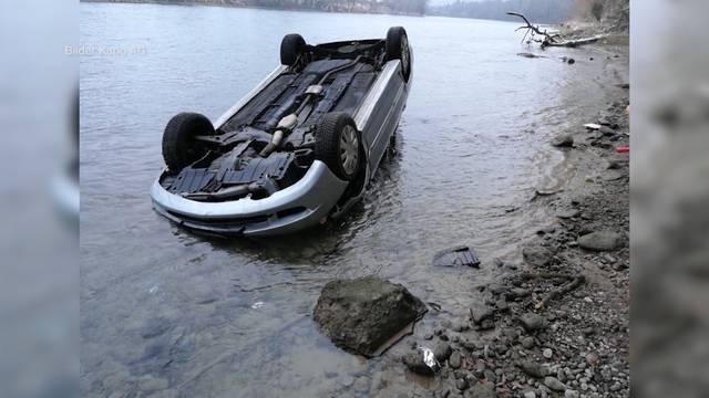 Mitsubishi rollt in Rhein