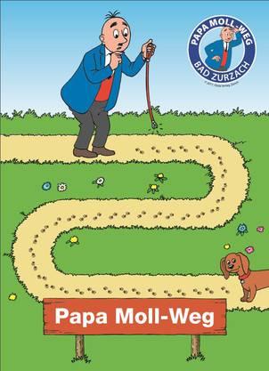 Papa-Moll-Weg - das offizielle Bild zur neuen Attraktion