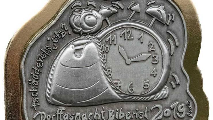 Goldplakette Dorffasnacht Biberist.
