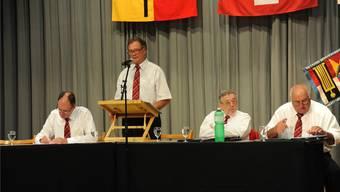 Der Vorstand (v.l.): Stefan Niggli, Röbi Wyss, Konrad Widmer, Lukas Heutschi.