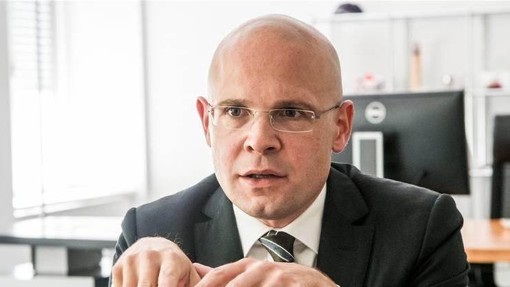 Kritik ausgesetzt: Justizdirektor Baschi Dürr