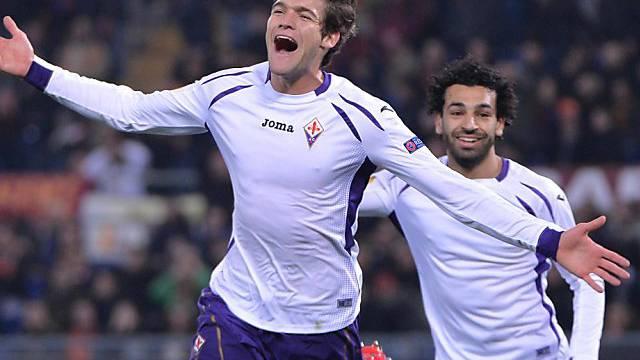 Auch Marcos Alonso reihte sich unter die Fiorentina-Torschützen