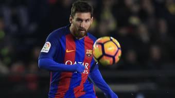 Wieder einmal rettete Lionel Messi den FC Barcelona