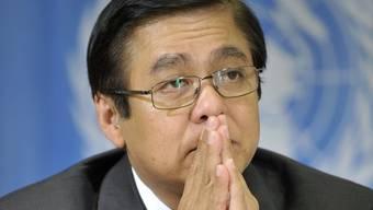 Der derzeitige Ratspräsident Sihasak Phuangketkeow (Archiv)