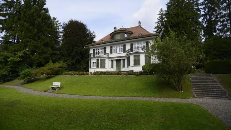 Die Grenchner Schild-Villa samt Park stammen aus dem Jahr 1914