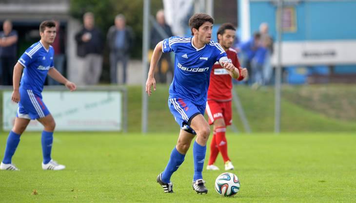 Normalerweise kickt er für den FC Liestal.