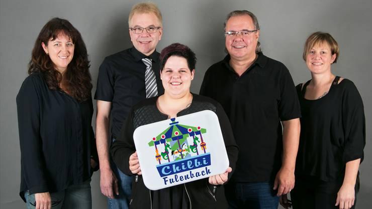 Das neue Organisationskomitee der Fulenbacher Chilbi (von links): Monika Aerni, Hansueli Keller, Tamara Grunder, Willi Bhend und Diana Friedl.