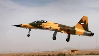 Der erste ganz im Iran gebaute Kampfjet: Der Kowsar auf einem Bild des iranischen Verteidigungsministerium.
