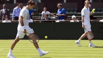 Federers Vorbereitungswoche auf Wimbledon