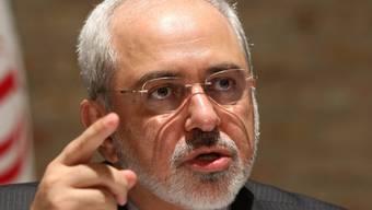 Irans Aussenminister Sarif spricht am Rande der Gespräche in Wien