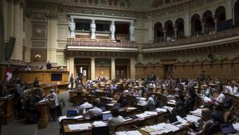 Nationalrat tritt auf Debatte über Fortpflanzungsmedizin ein.