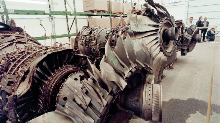 Die Transportation Safety Board of Canada (TSB) versucht, das Flugzeug zu rekonstruieren und so die Unfallursache zu ermitteln.