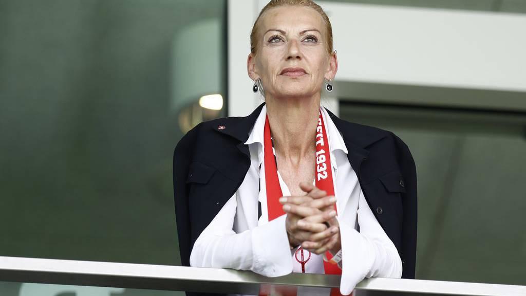 Ruth Ospelt war über sechs Jahre Präsidentin des FC Vaduz.