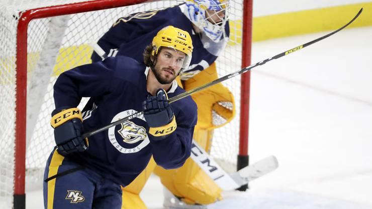Der Klassenbeste: Roman Josi führt die Rangliste der besten Schweizer NHL-Leistungen an.