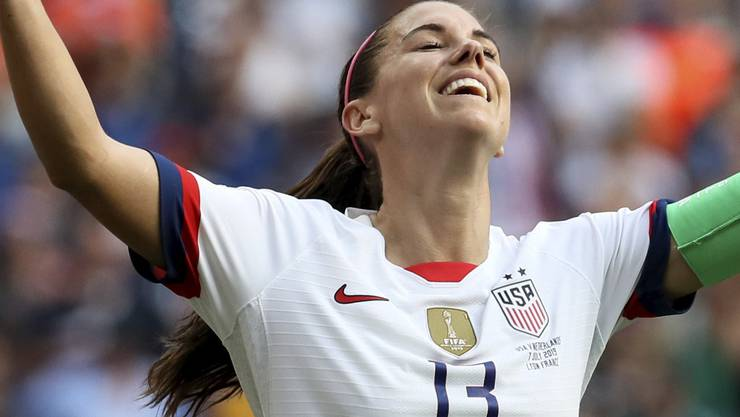US-Superstar Alex  Morgan.